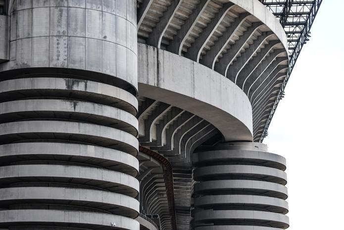San Siro Stadium Exterior Detail