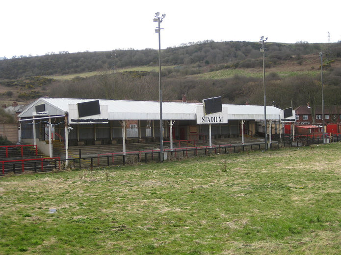 Scarborough FC's Derelict McCain Stadium