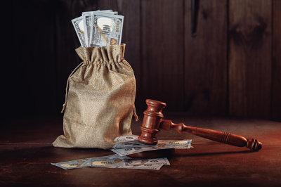 Seized Cash in Corruption Scandal