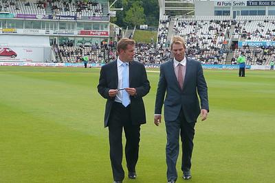 Shane Warne at Cricket Match