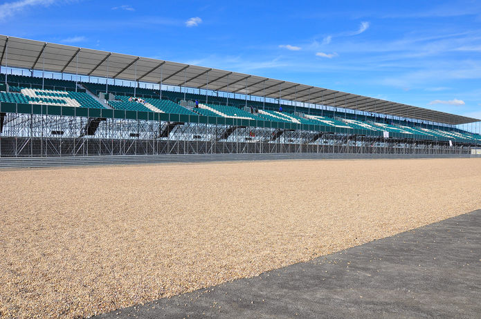Silverstone Racetrack Seating