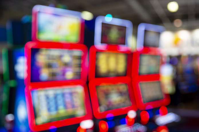 Slot Machines Blurred
