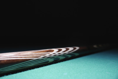Snooker Cue Dark Background