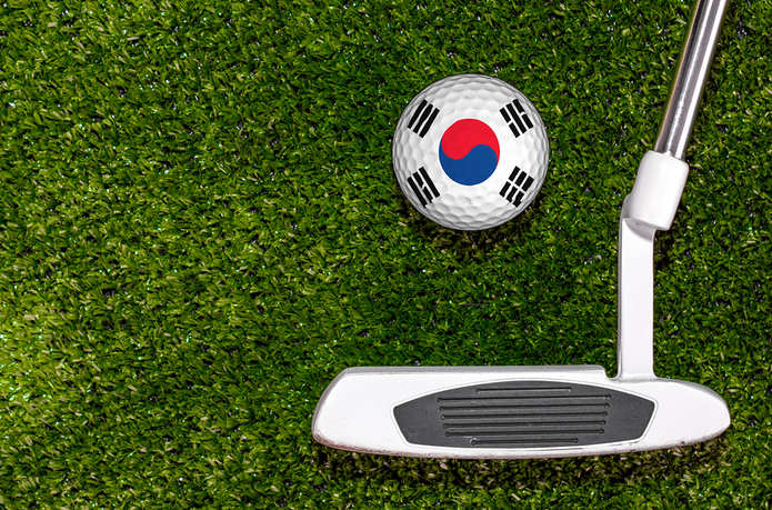 South Korea Golf Ball and Putter