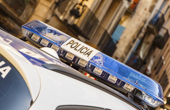 Spanish Police Car Lights