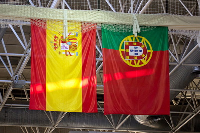Spanish and Portuguese Banners