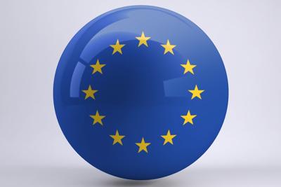 Spherical EU Flag