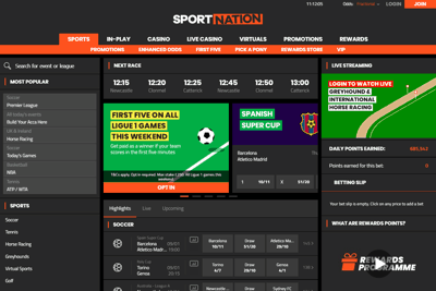 Sport Nation Screenshot
