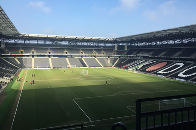 MK Dons Stadium MK Football Ground