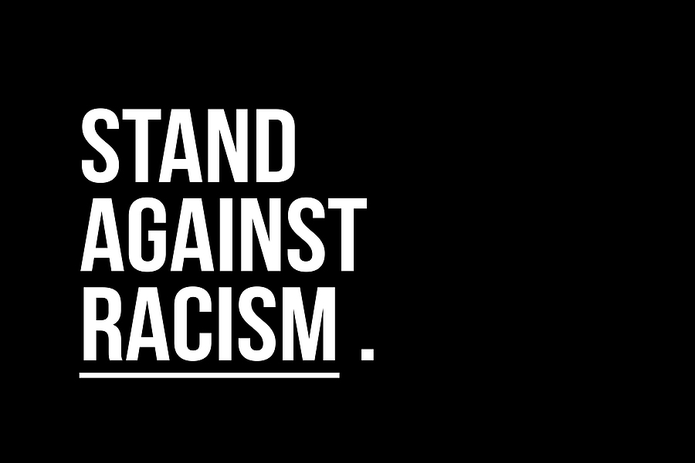 Stand Against Racism Text