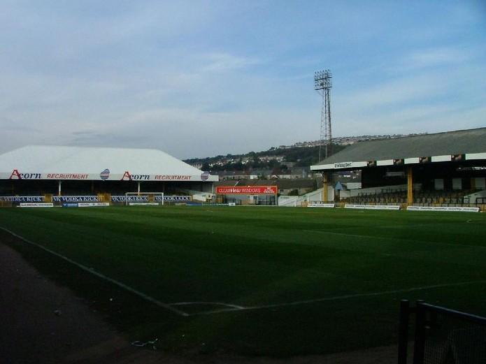 Swansea City's Vetch Field Football Stadium