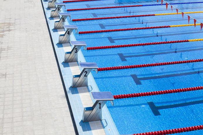 Swimming Pool Starting Blocks