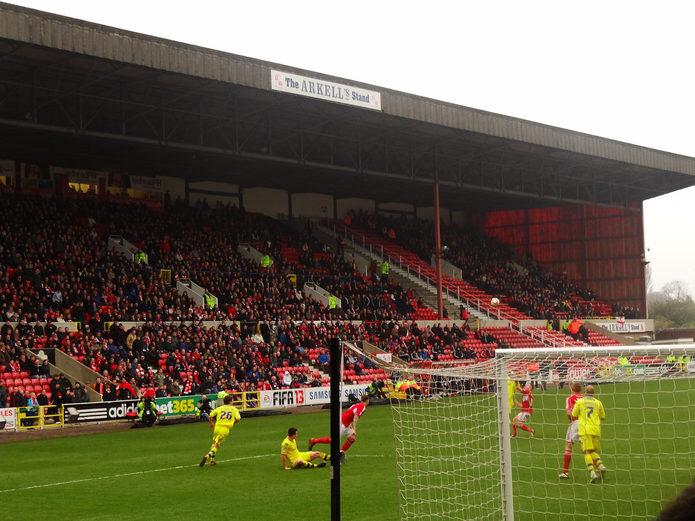 Swindon Town Home Match