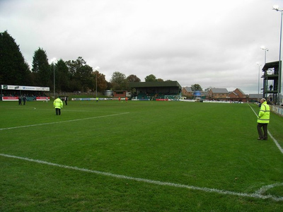Recreation Ground in Llansantffraid-ym-Mechain, Wales