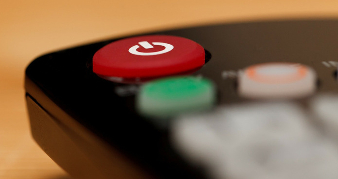 TV Remote Power Button