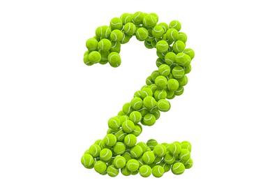 Tennis Ball Number 2