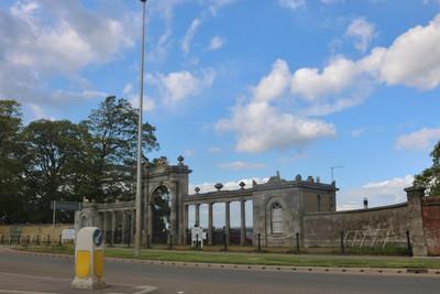 Towcester Racecourse Entrance