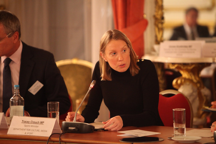 Tracey Crouch Sports Minister