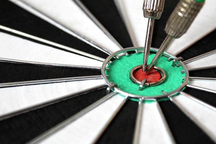 Two Darts in Bullseye
