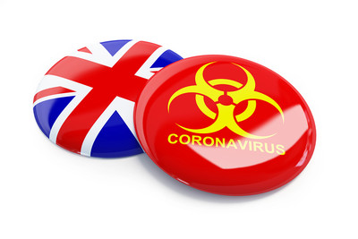 UK Coronavirus Graphic
