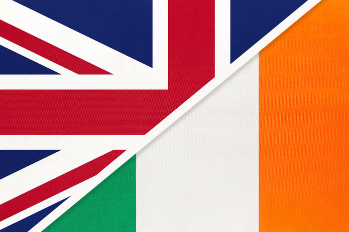 UK and Ireland Flags