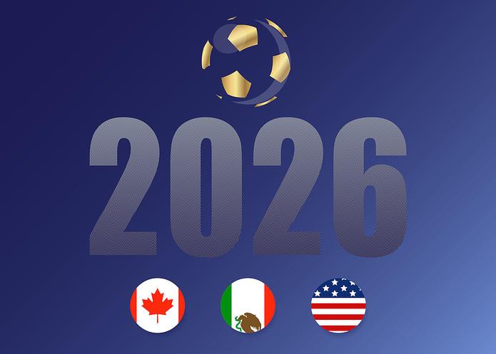 USA 2026 Flag Icons