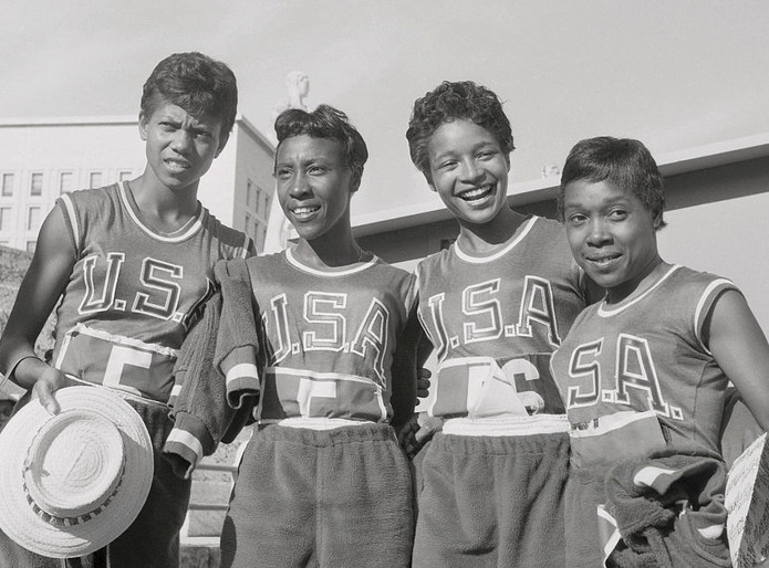 USA Women's Relay Team, Rome 1960