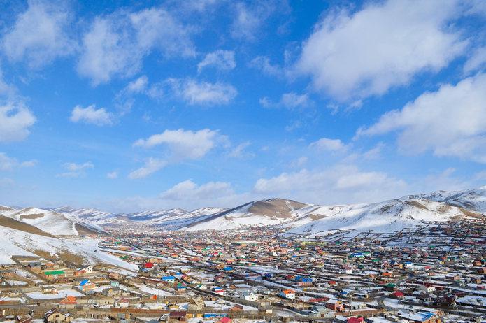 Suburbs of Ulaanbaatar, Mongolia
