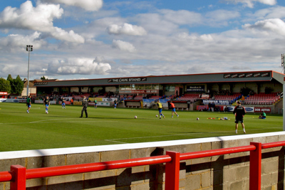 Dagenham & Redbridge's Victoria Road Football Stadium
