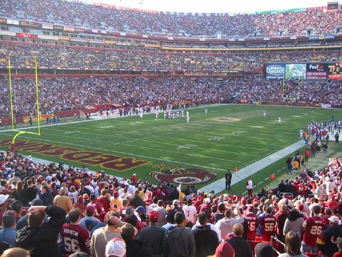 Washington Redskins NFL Game at the FedEx Field