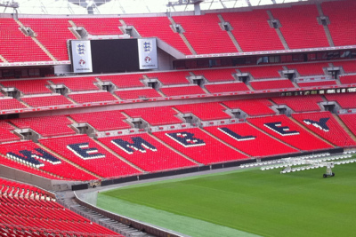 Wembley Stadium Seating