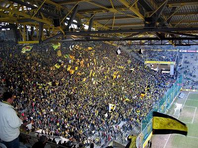 Borussia Dortmund's Westfalenstadion South Stand