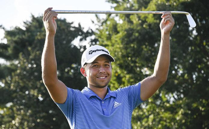 American Golfer Xander Schauffele