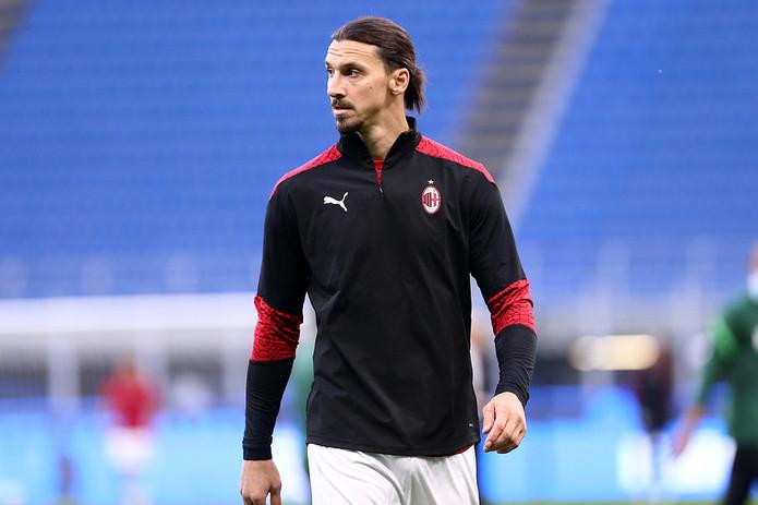Zlatan Ibrahimovic Pre-Match at AC Milan