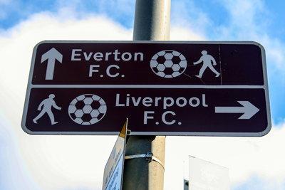 Liverpool FC / Everton FC Signpost