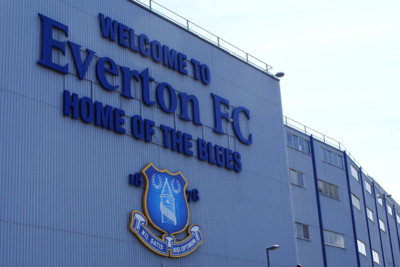 Welcome to Everton Sign